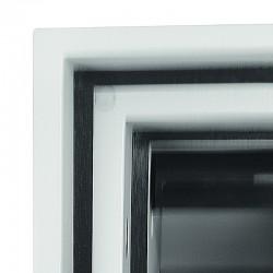 Blokada termiczna zabezpieczająca szczelinę pomiędzy obudową i drzwiami przed ogniem i wysoką temperaturą