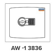 Sejfy ścienne AW-1